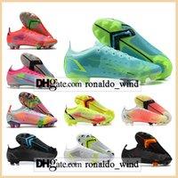 حقيبة هدية رجالي قمم عالية القمم أحذية كرة القدم CR7 Mercurial Vapores XIV اليعسوب 14 النخبة FG المرابط في نيمار acc superfly viii أحذية كرة القدم