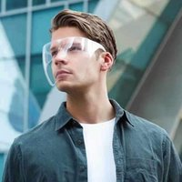 Sunglasses Men's Women's Faceshield Protective Glasses Goggles Safety Anti-Spray Mask Goggle One-piece Frame