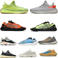 yeezy350 V2 380 500 750 450 Blue Oat Reflective 700 men women Running shoes V3 Mist Azael Alvah Phosphor wave runner 700s 380s Outdoor sports designer sneakers