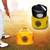 Golf Training Aids 1Pcs Power Impact Aid Practice Smash Hit Strike Bag Trainer Exercise Package Multi-function Outdoor