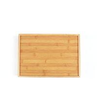 Деревянный бамбук прямоугольный сервисный лоток кунг-фу чайных столовых приборов лотки для хранения поддонов фруктовые пластины с ручкой zze5171