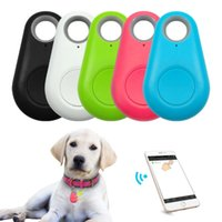 10pcs Pets GPS Tracker Anti-Lost Alarm Waterproof Bluetooth Tracer For Pet Dog Cat Keys Wallet Bag Kids Trackers Finder