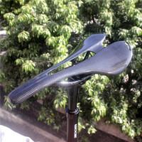 دراجة السروج CNC 3K كامل ألياف الكربون سرج خفيفة الوزن لطريق مقعد أسود، لمعان / ماتي