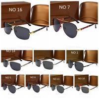 5A + جودة نظارات شمسية فاخرة uv400 الرياضة النظارات الشمسية للرجال والنساء الصيف ظلة نظارات في الهواء الطلق دراجة الشمس الزجاج 16 الألوان