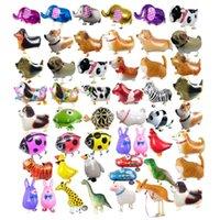 Pet Alüminyum Folyo Balon Yürüyüş Alüminyum Film Balon Doğum Günü Partisi Dekorasyon Yürüyüş Pet Hayvan Balon Noel Hediyesi Çocuk Oyuncak