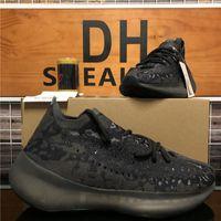 En Kaliteli Erkekler Bayan Kanye 380 Batı Mesh Koşu Ayakkabı Biber Alien Mist 3 M Yansıtıcı Sneakers Hylte Glow Üçlü Siyah Azure Erkek Yumuşak Spor Trainer Sneaker