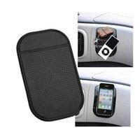 Черный липкий противоскользящий коврик без скольжения автомобильная приборная панель Magic Sticky Pads Mat для MP3 MP4 Phone Stick 1200 шт. 7 Цвета доступны с