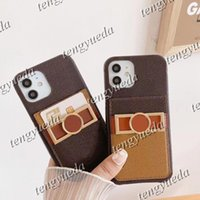 Fashion Designer Phone Cases for iphone 13 13pro 12 12pro 11 pro max XS XR Xsma 8plus Classic Pattern Leather Card Holder Luxury Cellphone Case Cover