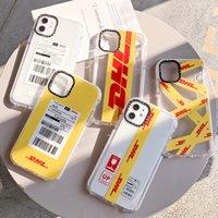 Yumuşak TPU DHL Şeffaf Temizle Telefon Kılıfı Koruyun Kapak Darbeye Dayanıklı Yumuşak Kılıflar Iphone 11 Pro Max 7 8 Artı X XS Max XR