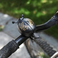 Bike Horns Bicycle Bell Forma de escarabajo para la carretera de montaña Diámetro del coche plegable 21-23mm Manillar + Material de plástico ABS 90-100 Decibel