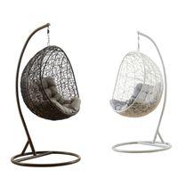 Balcone caldo di vendita patio rotondo per mobili camera da letto appeso a forma di uovo indoor a forma di altalena