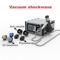 Shockwave Vacuum multi-fuction cellulite reduction ED therapy pain relief shock wave machine