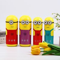 Children's cartoon watercolor pen set gift non toxic color brush in washable barrel student stationery
