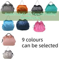 Storage Bags Multi-Function Bag Double Sided Large Capacity Folding Shopping Household Fruit Waterproof And Easy-To-Carry