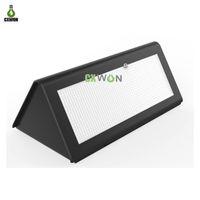 태양 전원 벽 램프 마이크로 웨이브 레이더 센서 LED 조명 방수 야외 정원 가벼운 ABS + PC 커버 1000LM