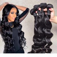 8a перуанские волосы девственницы плетены покраслимые перуанские волосы прямые 4 пакета 100% необработанные наращивания человеческих волос Lucky Queen Products