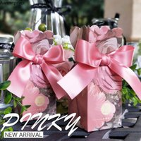 Gift Wrap Wedding Favors Paper Bags Sweet Candy Packaging Boxes For Baby Shower Boy Gilr Birthday Box Party Decoration Supplies