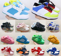 Top quality Chunky Dunk SB Kids Running Shoes Boys Girls Casual Fashion Sneakers Athletic Children Walking toddler Sports Trainers Eur 26-35