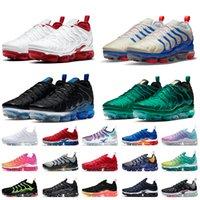 2020 nike air vapormax plus off white TOP QUALITY 2020 New tn plus BIG US SIZE 13 cuscini sneaker firmate Stock X uomo scarpe da corsa da donna scarpe da ginnastica bianche nere