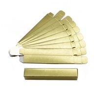 Bouteilles de stockage BOARS LIP GLOSS Boîtes d'emballage Papier vide Papier Personnalisable Logo Noir / Holographique / Gold 12 * 2 * 2cm Rouge à lèvres