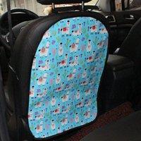 Araba Emniyet Koltuğu Arkalığı Koruma Kapağı Çocuk Bebek Araba Arka Koltuk Kapağı Anti-Çamur Anti-Kick Pad Ayak Pedi Temizleme