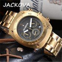 Дешево Запуск полных функциональных часов STOMWatch мужские часы роскошный кварцевый календарь наручные часы из нержавеющей стали мода бизнес мужские часы