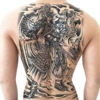1019 Zhao Zilong Yunman Sticker de tatouage de tatouage étanche de l'étanchéité des hommes et des femmes