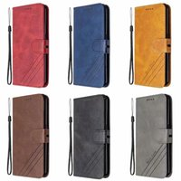 Business Retro Leather Wallet Flip Cases For Iphone 13 Pro max 2021 12 Mini iPhone13 Ancient Book Folio Cover Holder ID Card Slot Phone Stand Pouch With Strap Lanyard