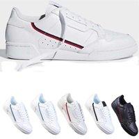 Botas de Designer para Mulheres Mens Low Court FW5325 Continental 80 Sapatos Casuais Cinza Og Core Black Triple Branco Homens Homens Mulheres Moda Sapato EUR 40-45