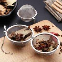 Té de té de acero inoxidable Infusor esfera esfera de bloqueo de té de té de té de malla Infusor de té Filtro de colador de té HWB5608