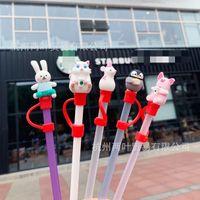 Factory Price Reusable Starbucks Straw Beverage Hard Plastic Stripe Drinking Straws Party Wedding Supplies