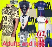 Liga MX 21 22 Club America 축구 유니폼 레온 셋째 2021 2022 Camisetas Tijuana Tigres Unam Chivas 3 축구 셔츠 성인 및 아이들