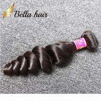 3pcs lot indien cheveux humain tissage naturel couleur noire ondulée vague vague cheveux trame libres livraison gratuite