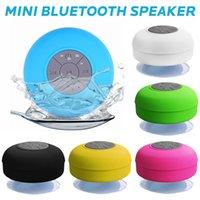 Mini haut-parleur Bluetooth haut-parleurs portables Subwoofer mains libres sans fil étanche pour douche salle de bain piscine plage de voiture en plein air