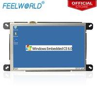 W859 8 الصناعية المضمنة PC WINCE 6.0 Linux مع LAN Port RJ45 RS232 All-in-One لوحة الإطار المفتوح لوحة المفاتيح Feelworld