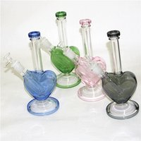 Hookahs Recycler Water Pipes Dab Rigs Glass Bongs with smoking bowls and downstem Quartz Terp Slurper Bangers