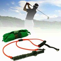 Golf Training Aids Swing Tension Belt Trainer Strength Action Device Strong Band Correction Club Supplies A2K7