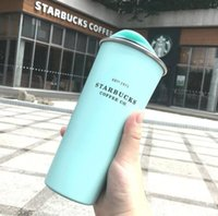 La dernière tasse de café en acier inoxydable de 16oz Starbucks avec couvercle, Starbucks Divers styles de flacon à vide, expédition gratuite 116 s2