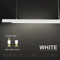 Pendant Lamps YSN Table And Bar Work White Led Spot Suspension Lights 30W Flood Linear Lighting