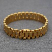 Braccialetti di moda di lusso per le donne orologio da donna in stile braccialetto braccialetto di alta qualità in acciaio inox mens gioielli moda festa