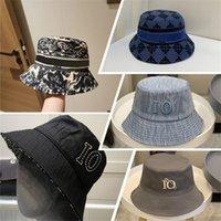 Mujeres de verano Casquette diseñadores Caps Bucket Hats Mens Bonnet Beanie Gorra de béisbol Snapbacks Fedora Fitted Sombrero letra Beorías 2021 Niza