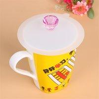 실리콘 컵 뚜껑 다이아몬드 재사용 가능한 머그컵 커버 안티 먼지 밀폐 컵 커버, 내열성 실리콘 뜨거운 음료 컵 뚜껑 771 K2