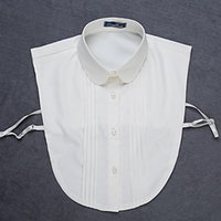 Bow Ties Plus Size Sweater Blouse Fake Collar For Women Half Shirt False Collars Female Choker Necklace Detachable