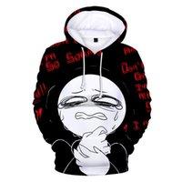Men's Hoodies & Sweatshirts Anime Don't Leave Me . I Am So Sorry 3D Print Hoodie Sweatshirt Harajuku Streetwear Boy girl Pullover ADULT Kids