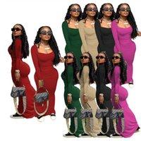 Solid Color Women Dresses Sexy Long Sleeve Birthday Dress Elegant Bodycon Lounge Wear S-XXL