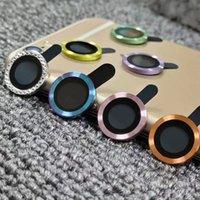 Protezione dello schermo dell'obiettivo del telefono per i casi Apple 13 iPhone 12 Pro Max 11 12mini 3D Full Back Photography Telecamera in vetro temperato in alluminio Telaio in metallo Cassa protettiva con scatola