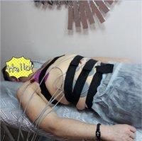 Nya produkter Electro Muscle Stimulator Electrical EMS Fat Burning Massager Body Vibration Massage Machine
