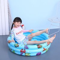 Pool & Accessories 150*25cm Children's Inflatable Baby Swimming Water Fishing Pond Ocean Ball Indoor And Outdoor Are Available