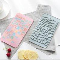 Brief Backformen alles Gute zum Geburtstag DIY Schokoladenformen AABB Englische Buchstaben Silikon Backformen Kuchenformen Küche Backen Werkzeuge FWC6129