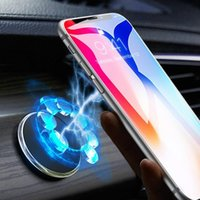 Magnetic Car Phone Holder Stand for Smartphones 13 pro Max Wall Metal Magnet GPS Car Mount Dashboard